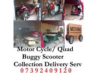 Bike Delivery Quad Recovery Scooter Collection & Delivery to All UK Nationwide Cheap Transportation