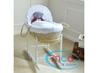 Rocking Moses Basket For Sale