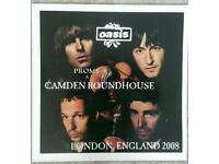 OASIS RARE RECORDS CAMDEN LIVE 2008 x 2 LP'S BOTH MINT CAN POST UK