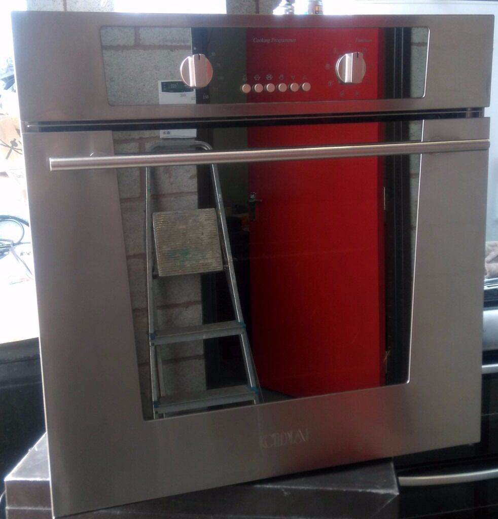 Cda Cd601 2ss Fan Assisted Electric Integrated Single Oven In Collection Ovens Lamona Conventional Stainless Steel