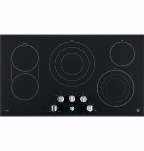 Plaque de cuisson noire 36'', Vitrocéramique