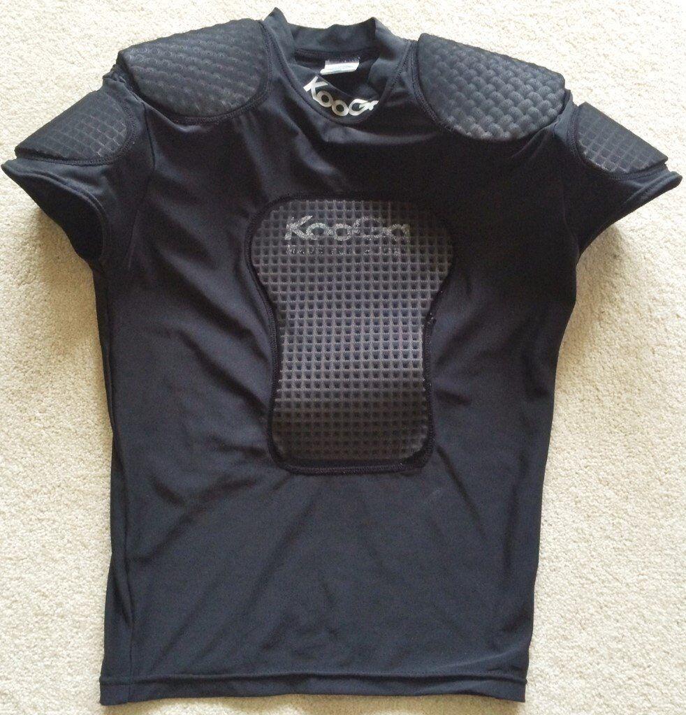 Design shirt kooga - Rugby Body Armour Large Boys Kooga Padded Protective Shirt Jersey Top Lgb Pads Padding Protection