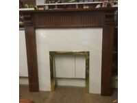 Mahogany Fire Surround - Good Condition