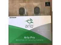 Arlo Pro System with 2 cameras