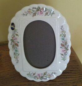Aynsley bone china photo frame