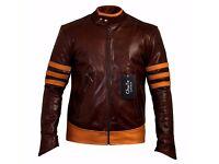 Men's X-Men Origins Leather Jacket - Charlie LONDON