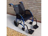 TGA Strongback - Lightweight fold-up aluminium wheelchair.
