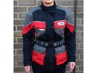 Motorcycle Jacket JTS Ladies Textile size xs 10