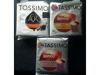 Three Packs of Tassimo Coffee Pods