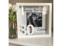 """Birthday"" Personalised Frame"