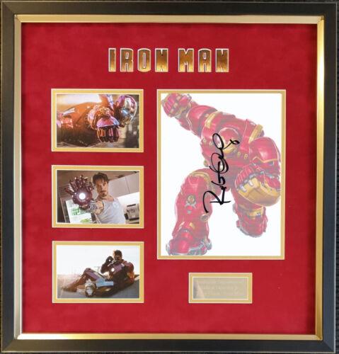 Robert Downey Jr signed & framed Iron Man AFTAL + UACC COA Online [16395]