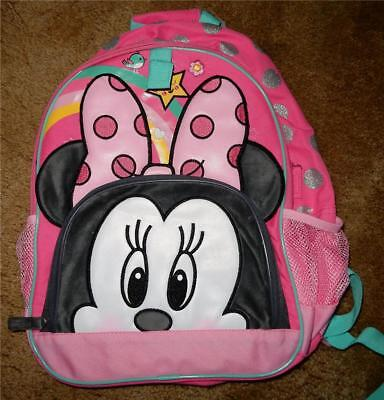 Disney Parks Minnie Mouse  Backpack  New With Tags