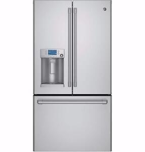 Réfrigérateur à portes françaises 36'', Profondeur comptoir