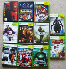 Xbox 360 games. Choose from 11 game.