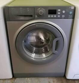 £140 Graphite Hotpoint Washing Machine - 6 Months Warranty