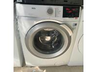 AEG ProSteam 10kg washing machine 1400 spin £200 like new