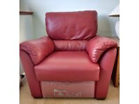 Recliner chair - leather electric Italsofa  sc 1 st  Gumtree & Recliner chair in Edinburgh | Sofas Armchairs Couches u0026 Suites ... islam-shia.org