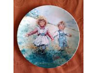 """MARY VICKERS """"PLAYTIME"""" WEDGEWOOD PLATE"""