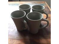 4 x Large Cappuccino / latte mugs