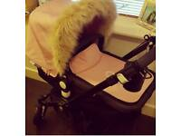 Excellent condition black framed Bugaboo Cameleon 3 pushchair with all the accessories and extras!