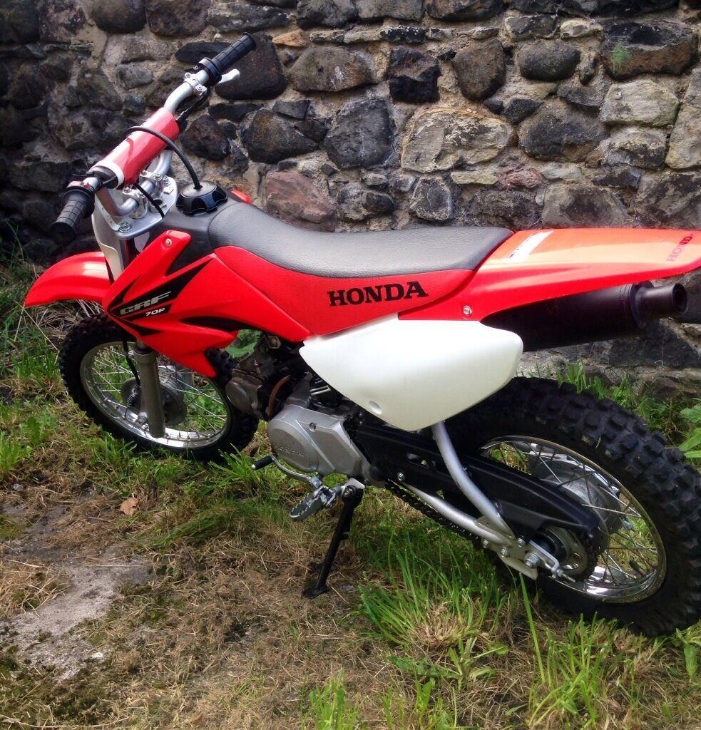 honda crf70 crf 70 *genuine honda* kids motorbike