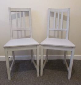 2 dining chairs spare party chairs reception bedroom chairs FREE DELIVERY