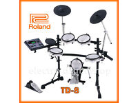 Roland TD-8 kit V Drums kit VEX pack upgraded electronic percussion set full MIDI for vst use
