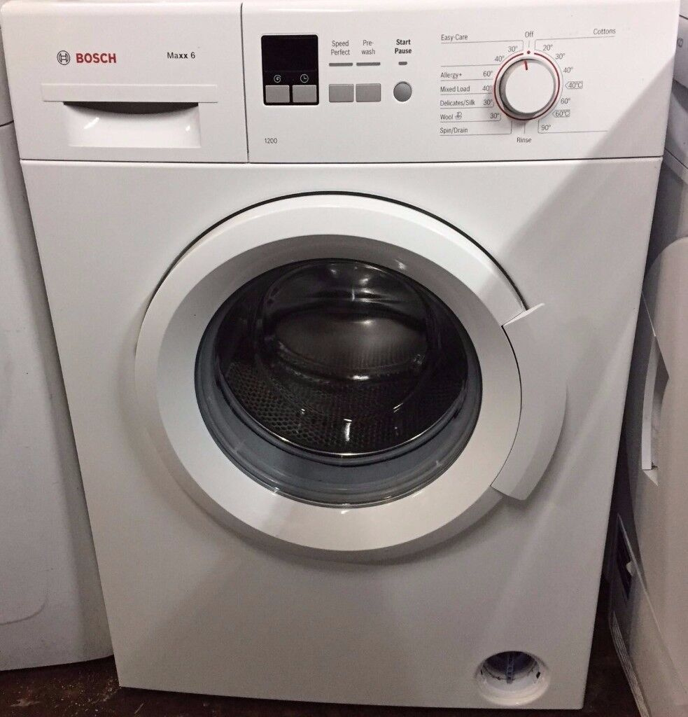 11 Bosch WAB24161 6kg 1200 Spin White LCD A+ Rated Washing Machine 1 YEAR GUARANTEE FREE DEL N FIT