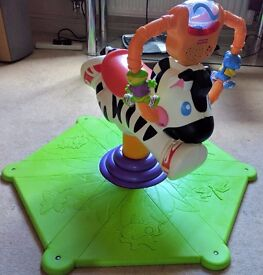 Fisher Price Bounce & Spin Zebra. - Now Reduced!