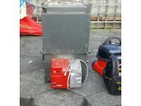Boiler and rdb burner SE