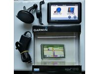GARMIN nüvi 1310T GPS Sat Nav UK & Ireland Maps & Traffic + Bluetooth, Speed Cam (no offers, please)