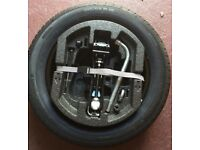 Spare Wheel and tool kit - 195/55 R15