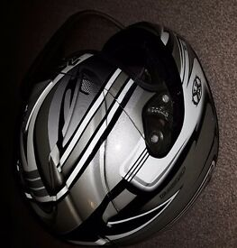 Nex Motorcycle Helmet. Rarely used
