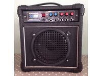 INTERTAN X25 COMBO AMPLIFIER GUITAR KEYBOARD VOCAL INPUTS 40WATTS