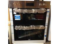 ***NEW Beko integrated double oven for SALE with 1 year guarantee***