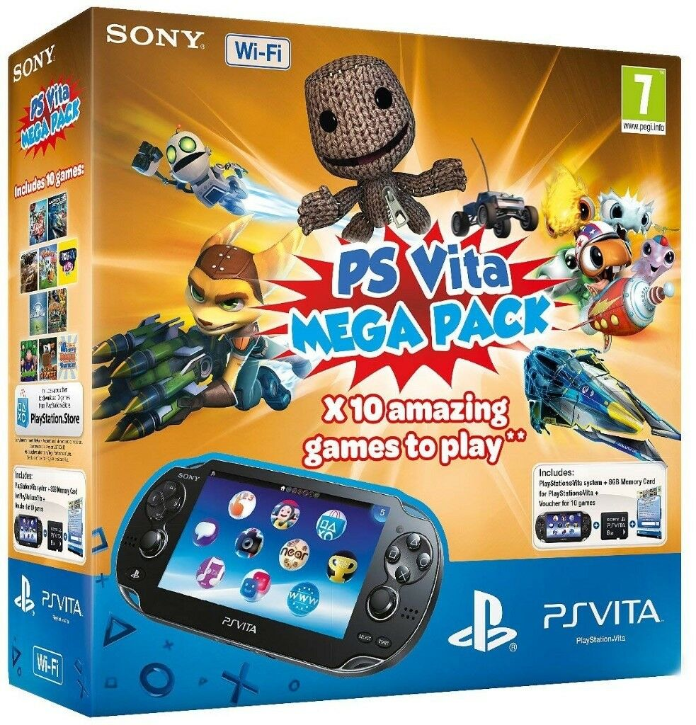 Sony PS Vita WiFi Console with 10 game Mega Pack | in Sheffield, South  Yorkshire | Gumtree