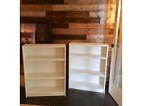 Ikea book shelf. Shelving. ONE LEFT!! . White.