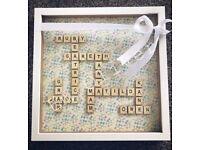 Handmade Scrabble Frames