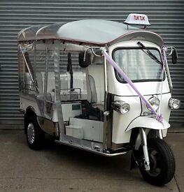 Wedding car Tuk Tuk Wedding Transport