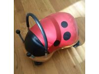 Wheelybug Ladybird (Small) Ride On Toy