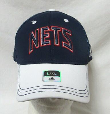 Adidas Jersey Cap (Adidas New Jersey/Brooklyn Nets Mens Size L/XL