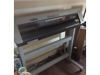 Roland camm 1 vinyl cutter plotter. Tshirt press. With 100s of mtr of vinyl & Flexi sign Pro