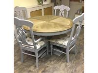 Stunning table &4 chairs