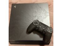 Limited edition 1tb last of us 2 playstation 4 and 4 games