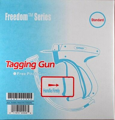 Garvey Freedom Price Tag Gun 2 1000 Barbs Dennison Style Tagging Attacher