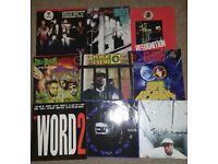 Hip Hop Vinyl LP lot. Lots of classics: Public Enemy, Jungle Brothers, Grandmaster Flash, Ice T etc
