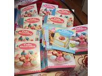 Cake decorating magazines and equipment