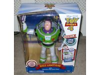 Disney Pixar Toy Story 4 Buzz Lightyear with Interactive Drop Down Action