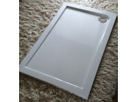 STONE SHOWER TRAY 1100mm x 700mm. NEW. SENSIBLE OFFER ACCEPTED!