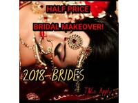 ***SPECIAL OFFER FOR 2018 BRIDES*** Professional Hair & Makeup Artist